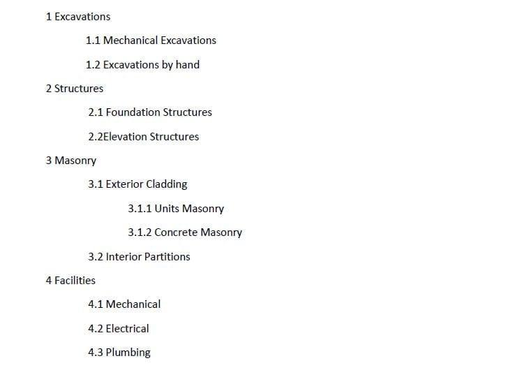 Indexstruktur