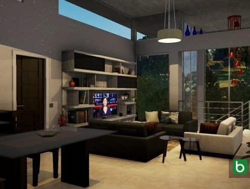 Wie man die Innenräume eines Hauses modelliert Edificius