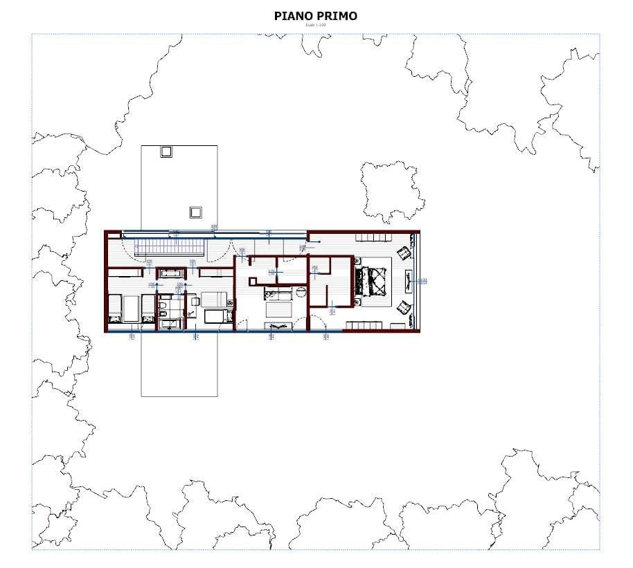 Grundriss-Erste Etage-Casa-En-Los-Cisnes-Edificius