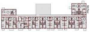 Grundriss_fünfter_Stock-WoZoCo's Apartments-software-BIM-Edificius