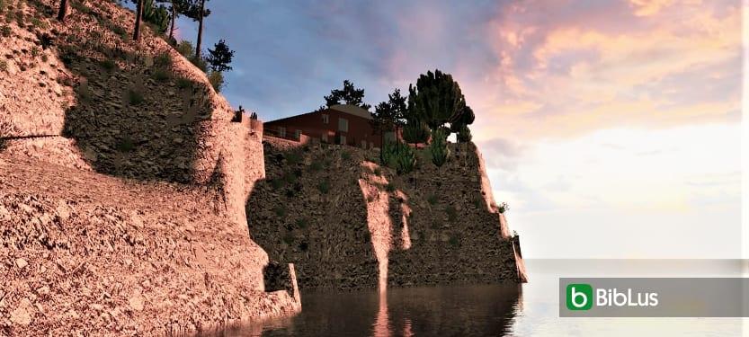 Das berühmteste Haus in Capri, Villa Malaparte: das gesamte Projekt zum Visualisieren und Herunterladen
