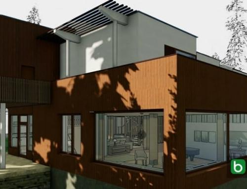 Villa Mairea, als DWG-Format und 3D-BIM-Modell zum Download das Projekt eines der Meisterwerke der Architektur des 20. Jahrhunderts