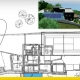 Zweistockiges Einfamilienhausprojekt mit DWGs zum Download