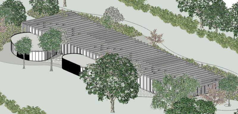 Axnometrie-Projekte-Schulgebäude-software-BIM-Software-Architektur-Edificius