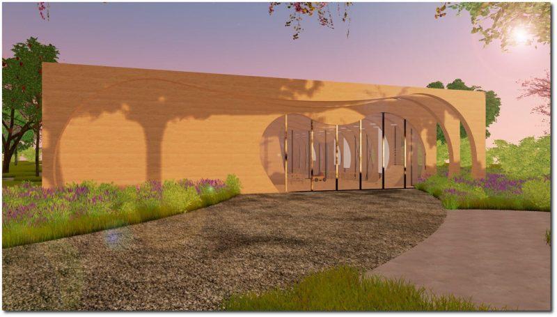 Eingang_Kindergarten_Wal_Rendering_progetti-Schulgebäude-BIM-Software-Architektur-Edificius
