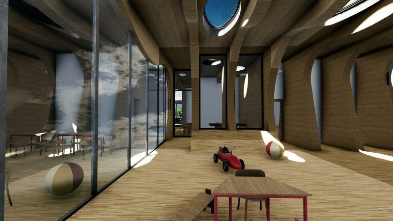 Innenbereich-Kindergarten_Wal_Rendering_Projekte-Schulgebäude-BIM-Software-Architektur-Edificius