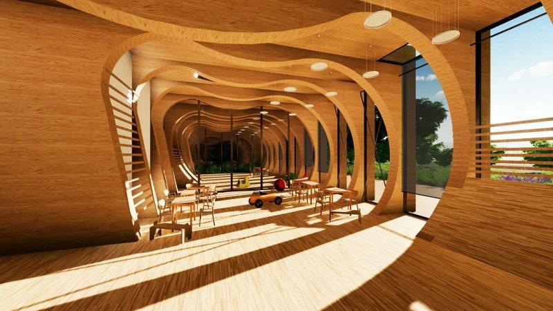Kindergarten_Wal_Rendering _Projekte_ Schulgebäude-BIM-Software-Architektur-Edificius