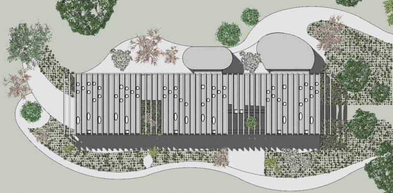 Lageplan-Projekte-Schulgebäude-BIM-Software-Architektur-Edificius