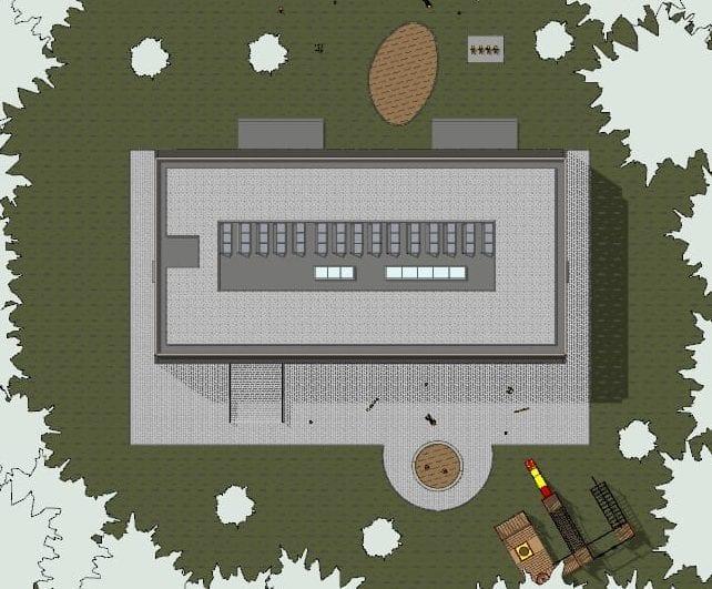 Lageplan_ Troplo-Kids_BIM-Software-Architektur-Edificius