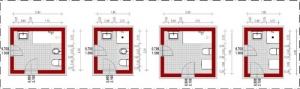 Badezimmer-Schemata-Edificius-BIM-Software-Architektur