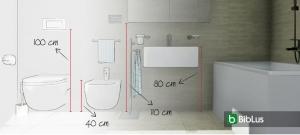 Badezimmer-Architektur: Wie man ein Badezimmer entwirft, die komplette Anleitung