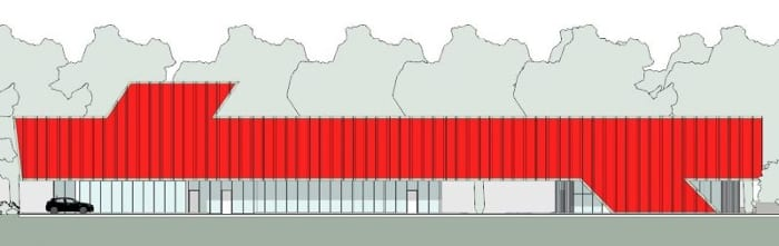 Harvey-Pediatric-Clinic_Süd-Ansicht_Edificius_BIM-Software-Architektur