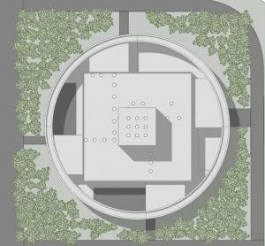 Kinderzentrum-Entwurf_Lageplan_Ponzano-Children_BIM-Software-Architektur-Edificius