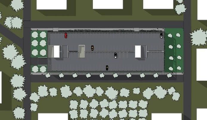 Lageplan_ Projekt-Parkplatz-DWG_BIM-Software-Architektur-Edificius