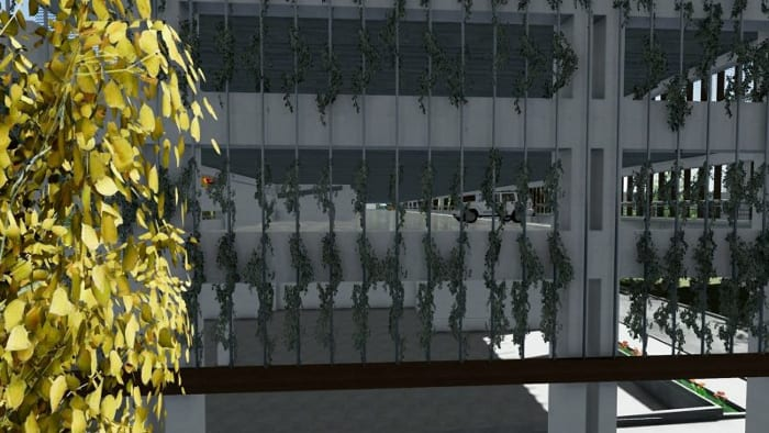 Parking-Les-yeux-verts_Rendering-Ebenen_ BIM-Software-Architektur-Edificius