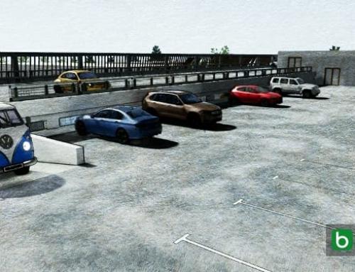 Ein Parkplatz-Projekt im DWG-Format: Typologien, Beispiele und 3D-BIM-Modell des Architekturprojekts