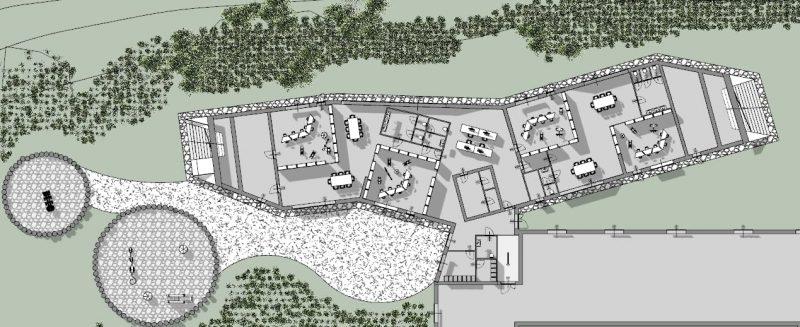 Raa-Day-Care-Center_Grundriss-Erdgeschoss_BIM-Software-Architektur-Edificius