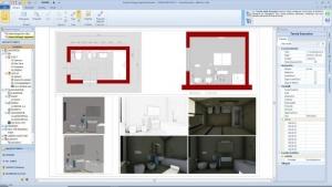 Wie-man ein Badezimmer entwirft-Schnittstelle-Edificius-BIM-Software-Architektur