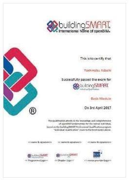 Professional Certification Program Zertifikat