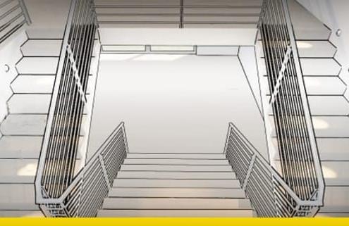 Wie man die Architektur einer Treppe zeichnet Beispiele zum downloaden