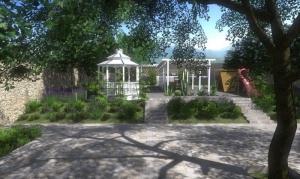 Gartenprojekt Mit Edificius erstelltes Rendering