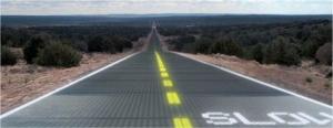 LED-Beleuchtung solar road