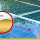 Der Sonnenkollektor Golden Sandwich der Wasserstoff erzeugen kann