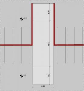 Projekt-Garage-Rampe-Gerade-Grundriss-Arhitektur-BIM-Software-Edificius