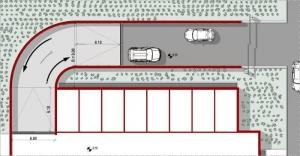Projekt-Garage-Rampe-Lageplan-Arhitektur-BIM-Software-Edificius