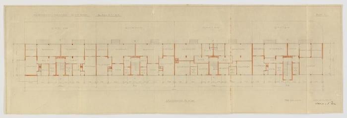 ludwig-mies-van-der-rohe-weissenhof-Mehrfamilienhaus-dwelling-exhibition-stuttgart-germany-plan-block-a1-a4-Grundriss-floor-1