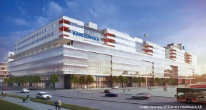 BIM-Skandinavien-Rendering-New-Karolinska-Solna-Project-NKS-New-Hospital