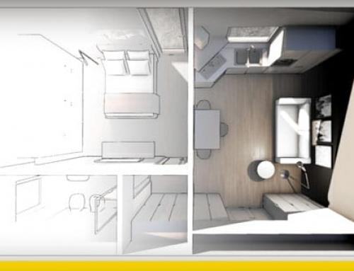 Wie man eine 2 Zimmer-Wohnung gestaltet: Kriterien, Standards und Beispiele