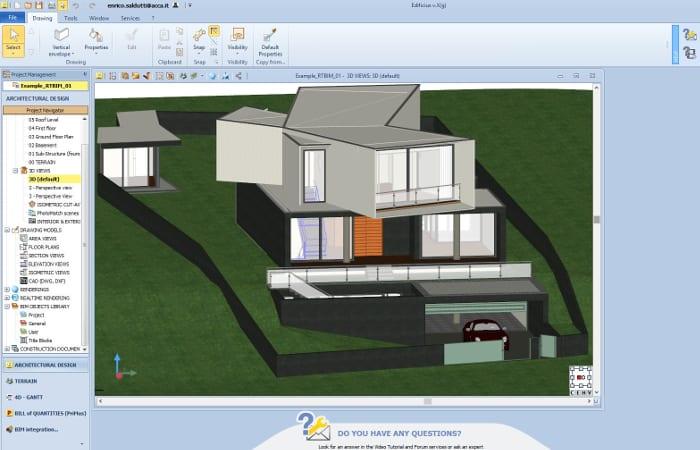 Beispiel-BIM-Modell- mit-Edificius-realisiert-10-innovative-technologien-Bauwesen