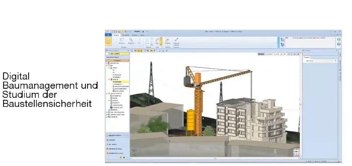 Digital Baumanagement und Studium der Baustellensicherheit