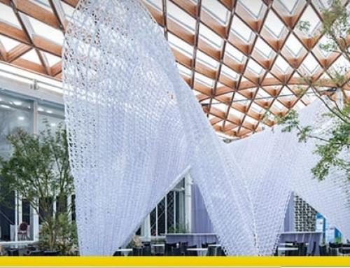 Digitale Konstruktionen: hier ist das erste Gebäude, das mit Robotern realisiert wurde