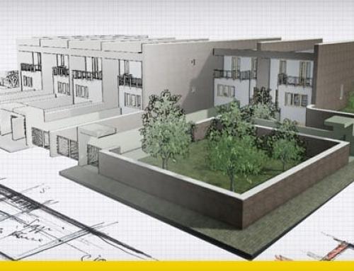 4 Vorschläge für Reihenhaus-Projekte mit DWG-Zeichnungen