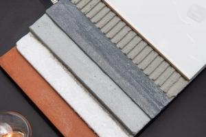 Detail del cemento al grafene