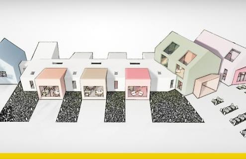 Entwurf einer Kindertagesstaette-Architektur-BIM-Software-Edifiicus