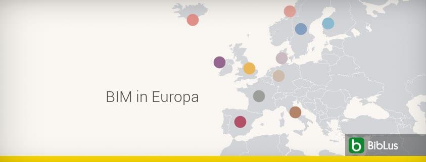 BIM in Europa: Verbreitung und Übernahme in den einzelnen Ländern - TEIL 1