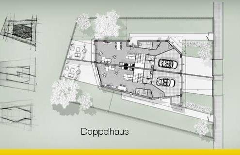 Wie man ein Doppelhaus entwirft-Leitfaden-mit-Projektbeispiel