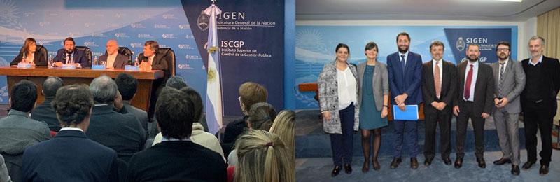 Foto der Mitglieder der offiziellen Präsentation der argentinischen BIM-Strategie