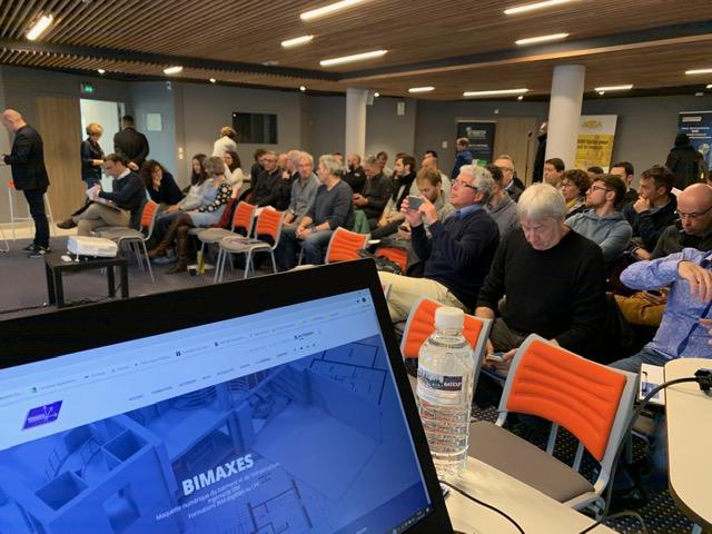 Foto des Publikums die am Bauverband teilnahmen