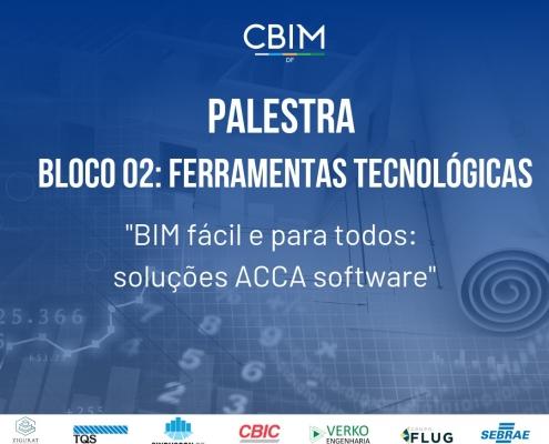 Bild mit dem Manifest der von ACCA am BIM DAY in Brasilia veranstalteten Konferenz