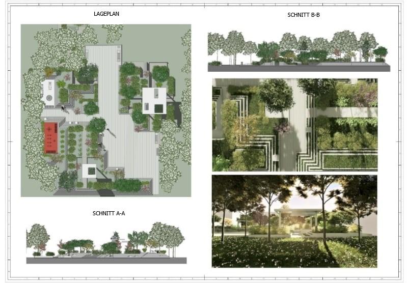 Darstellung von Plänen die mit Edificius erstellt wurden