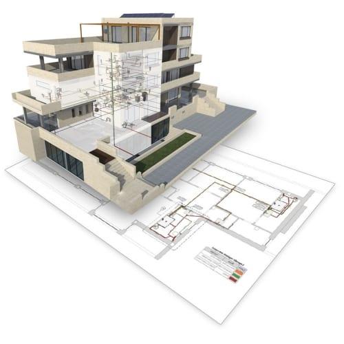 Darstellung der mit dem Modell verbundenen Projektunterlagen