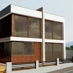 external render of ML-House produced with Edificius