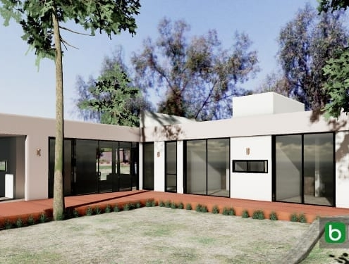 Casa Kaprys remodelled with a BIM software