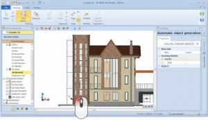 Automatic generation of BIM objects 02 - Edificius BIM software