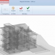 modeling complex structures in an architectural BIM