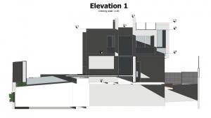 Elevation 1 - Camarines - Edificius BIM